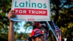 Latinos for Trump demonstration