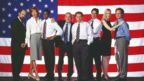 Cast from White House political drama The West Wing