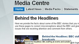 Behind the Headlines home