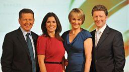 BBC Breakfast first broadcast MediaCityUK