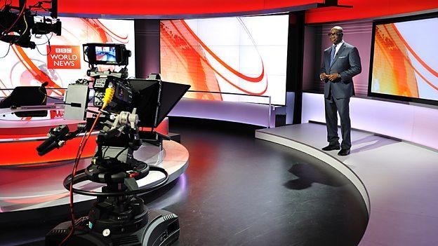 Presenting BBC World News