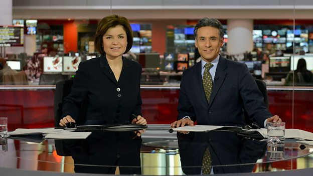 Jane Hill and Matthew Amroliwala will present the weekday afternoon slot on the BBC News Channel