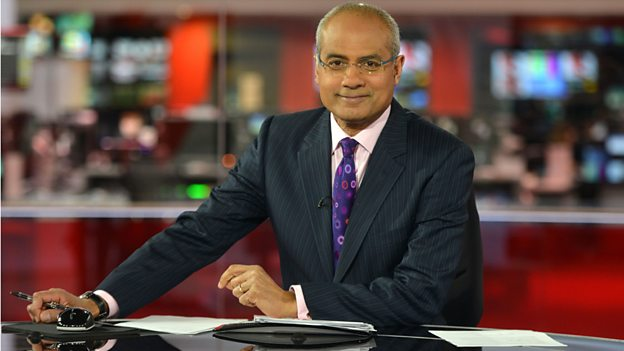 George Alagiah, Presenter of News at Six