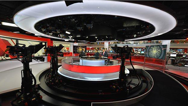 Studio E, the new newsroom studio