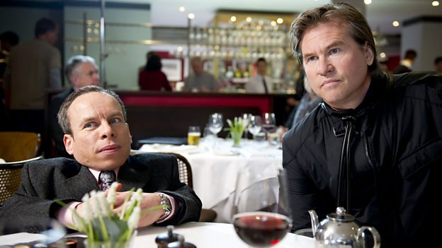 Warwick Davis and Val Kilmer star in Life's Too Short