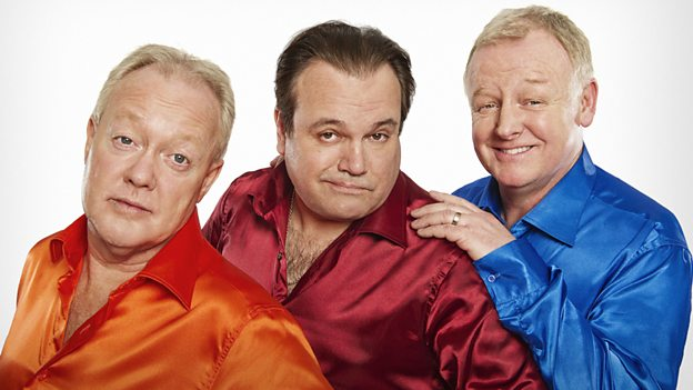 Keith Chegwin, Shaun Williamson and Les Dennis in Life's Too Short