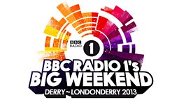 Ticket details announced for Radio 1's Big Weekend Derry~Londonderry 2013