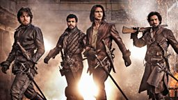 The Musketeers jet into South Africa for a special preview screening