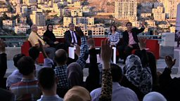 Research summary: Promoting accountability through debate in the Palestinian Territories