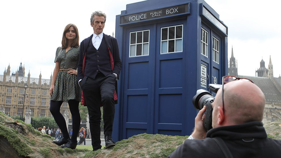 The Doctor and Assistant make their entrance...
