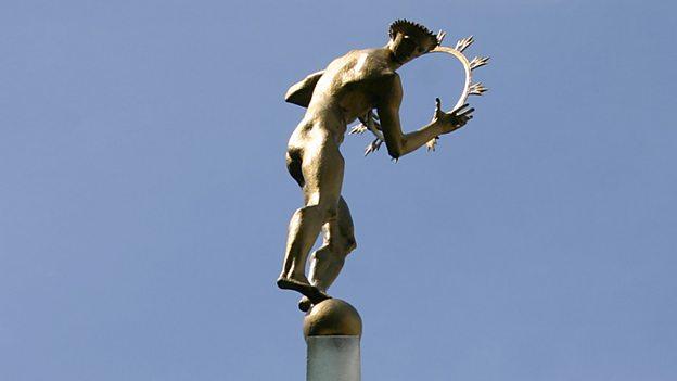 Helios statue