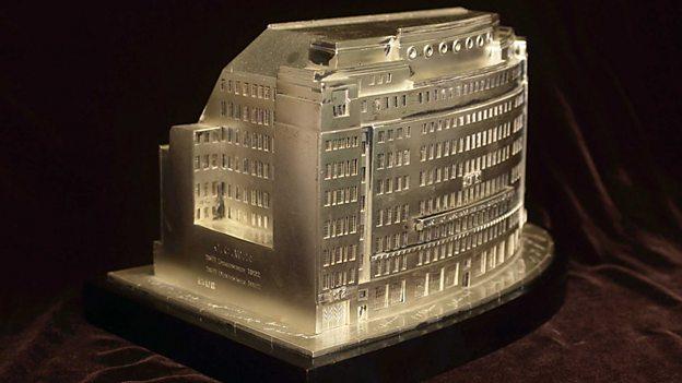 Broadcasting House cigar box