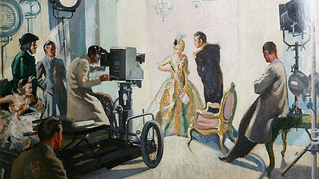 Television Rehearsal by Harry Rutherford