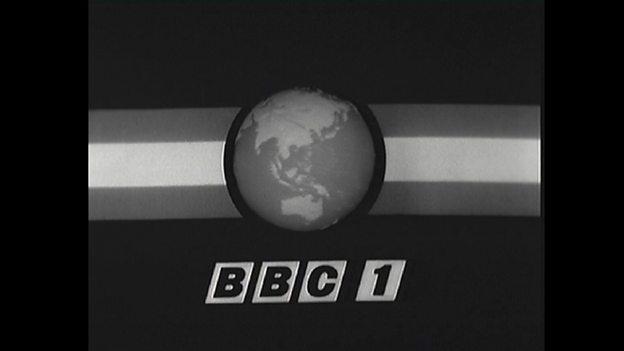 BBC 1 1966-1968, 'Watch-strap globe'