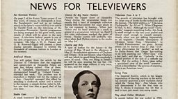 April 23, 1937 - News For Televiewers
