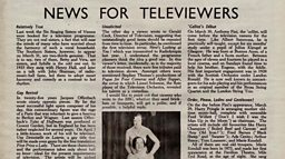 March 19, 1937 - News For Televiewers