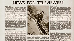 July 9, 1937 - News For Televiewers