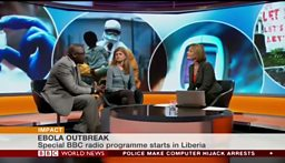 Our experts on BBC World News