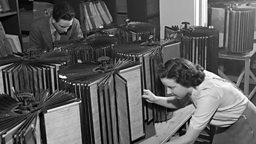 BBC Archives' Music Library exhibits at the Barbican