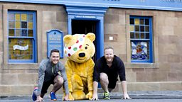 Runner City - Stars of River City limber up for the Great Scottish Run in aid of BBC Children in Need