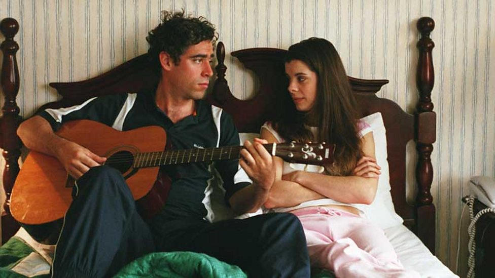Stephen Mangan and Meredith MacNeill in Confetti