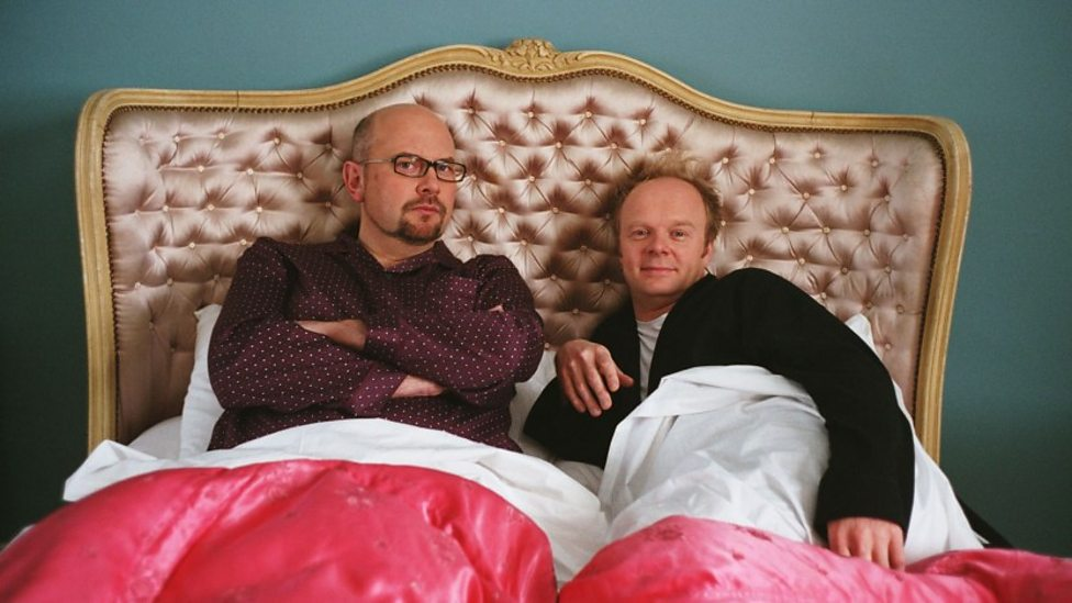 Vincent Franklin and Jason Watkins in Confetti
