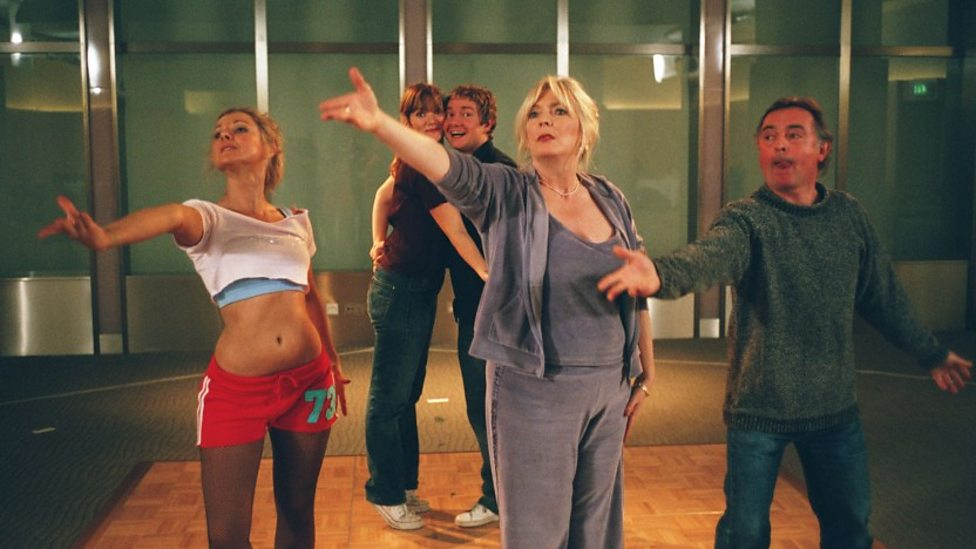 Jessica Hynes, Martin Freeman and Alison Steadman in Confetti