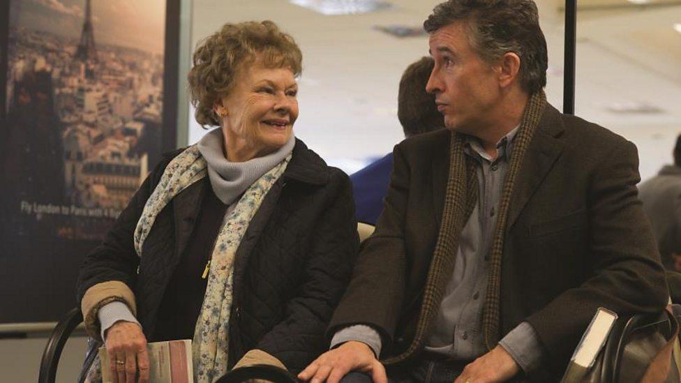 Judi Dench and Steve Coogan in Philomena