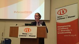 Chairman's speech to the Voice of the Listener and Viewer's Autumn 2015 Conference