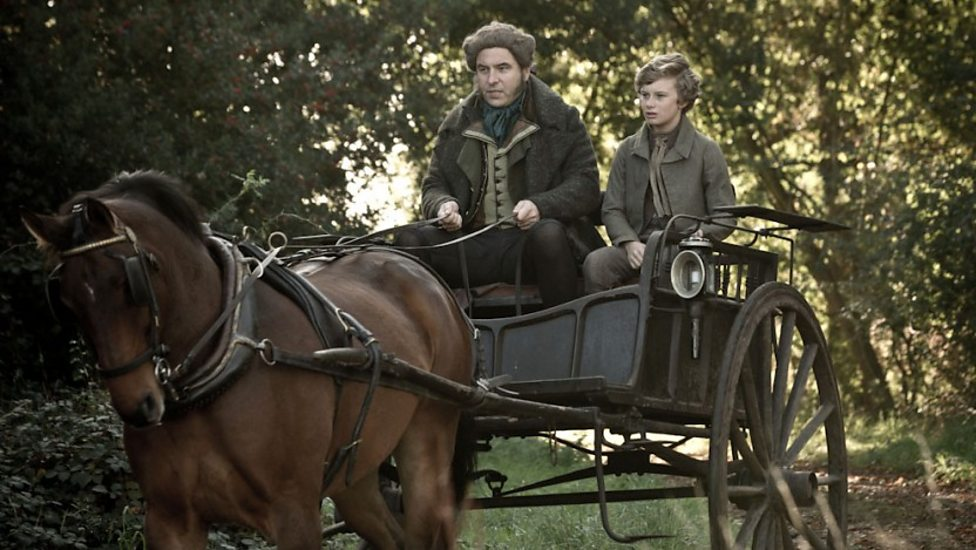 David Walliams and Toby Irvine in Great Expectations