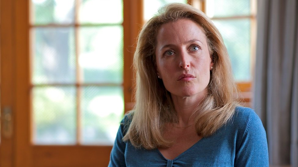 Gillian Anderson in Shadow Dancer