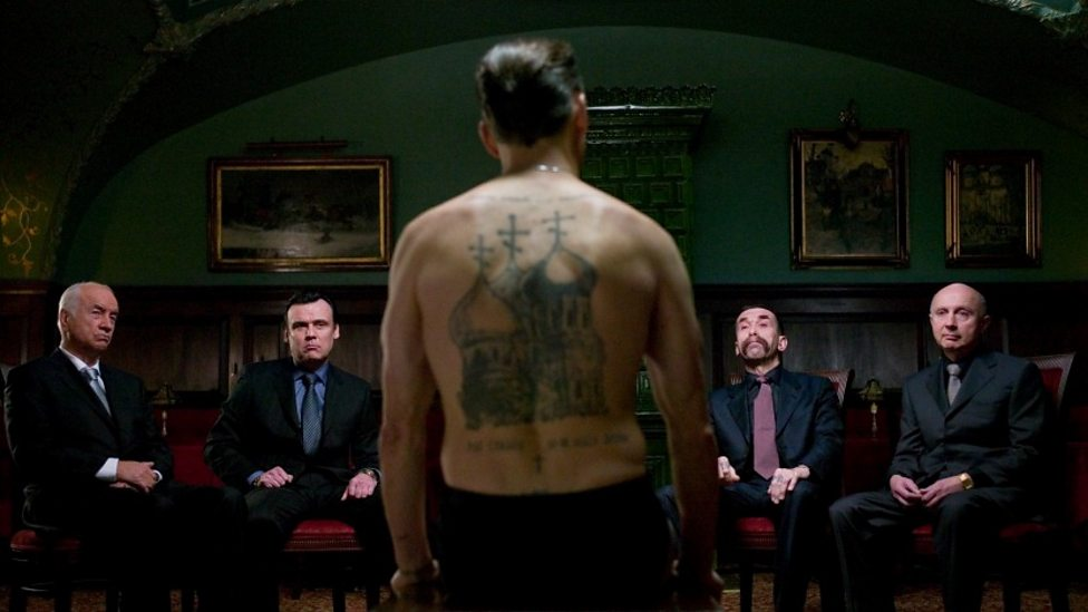 Viggo Mortensen, Armin Mueller-Stahl and cast in Eastern Promises