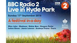 Elton John set to perform at BBC Radio 2 Live in Hyde Park 2016