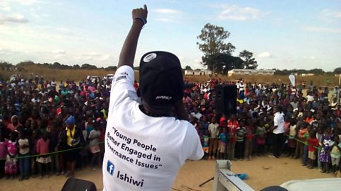 Ishiwi - giving young people a voice in Zambia