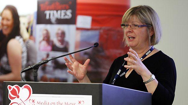 Sarah Drummond, Senior Outreach Manager for the BBC