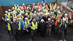 DIY SOS returns to complete veterans' street in Manchester