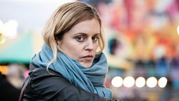First look image of Denise Gough in BBC Two drama Paula