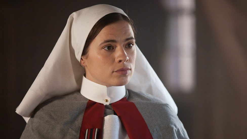 Hayley Attwell in Testament of Youth