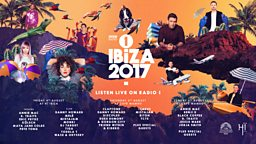 Scorching line-up of dance names announced for BBC Radio 1 in Ibiza