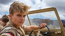 Tom Glynn-Carney is Lance Corporal Tony Armstrong