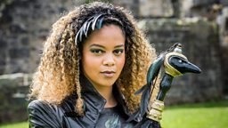 Interview with Aisha Toussaint, who plays Raven