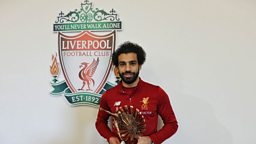 Mohamed Salah voted BBC African Footballer of the Year 2017