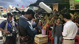 How can reality-based television and social media prepare Cambodian youth for the job market?
