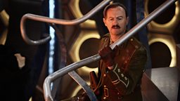 An interview with Mark Gatiss (The Captain)