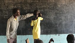 Shining a light on girl's education in South Sudan