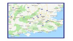 Changes for Freeview viewers in parts of Greater London, Hampshire, Sussex and the Southeast.