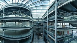Building work completed at BBC Cymru Wales' new broadcast centre in Cardiff