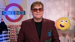CBeebies announces the legendary Sir Elton John is the latest star to read a Bedtime Story