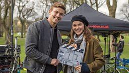 Filming begins in Edinburgh on second series of BBC Three thriller Clique