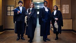 Katherine Parkinson and Will Sharpe are Defending The Guilty in new BBC Two comedy